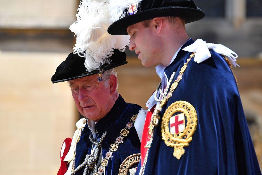 La Famille Royale Fête Les 700 De L'Ordre De La Jarretière ( 9