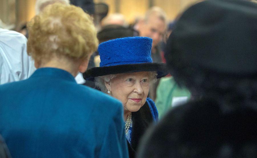 La Reine D'Angleterre Au Maundy Service À Windsor 11