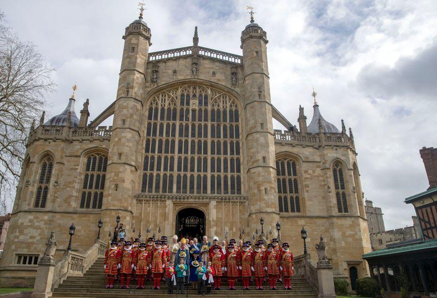La Reine D'Angleterre Au Maundy Service À Windsor 15