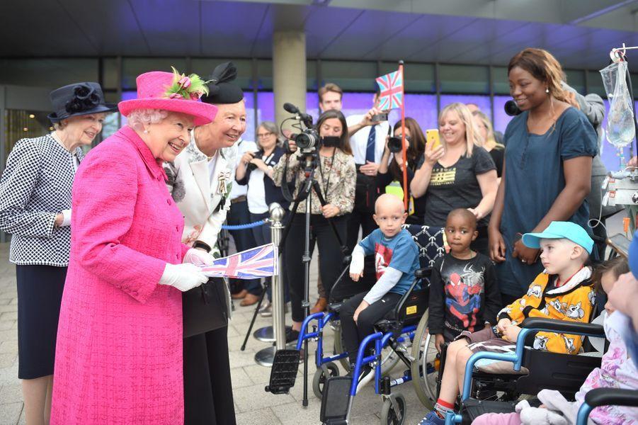 La reine Elizabeth II à Cambridge, le 9 juillet 2019