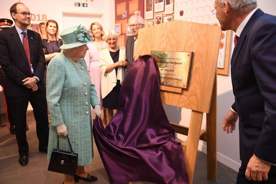 La reine Elizabeth II à Londres, le 22 mai 2019