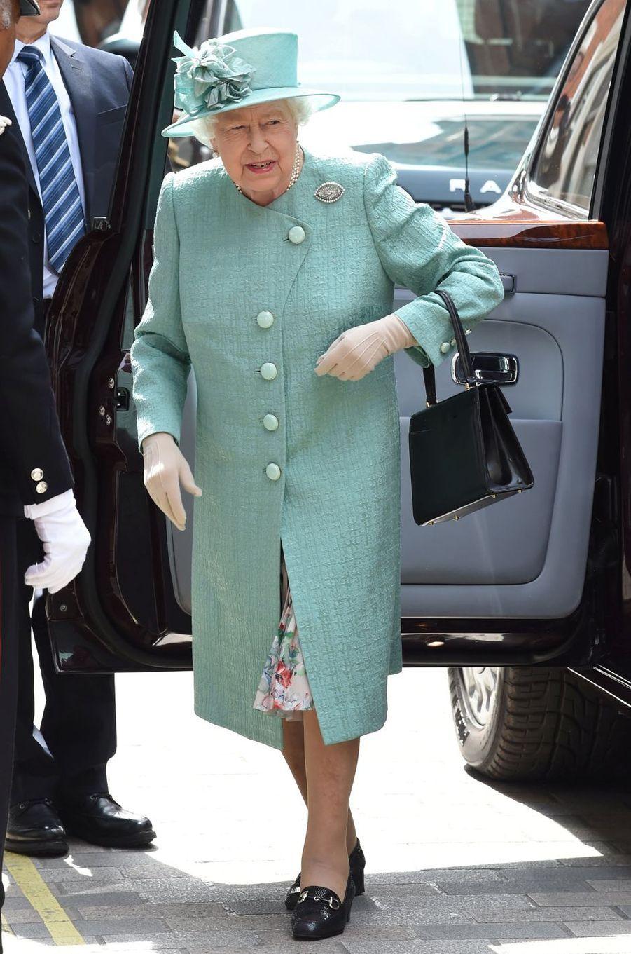 La reine Elizabeth II de sortie à Londres, le 22 mai 2019