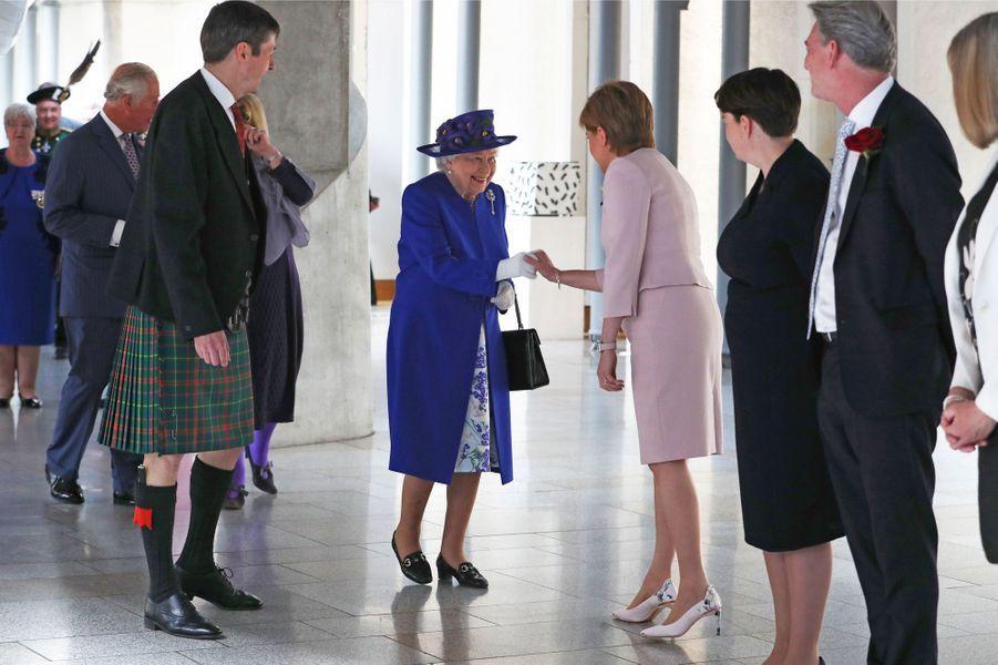 La reine Elizabeth II, le 29 juin 2019 à Edimbourg