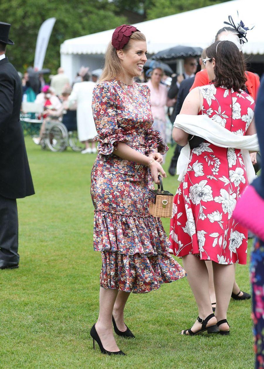 La princesse Beatrice d'York à Londres, le 29 mai 2019