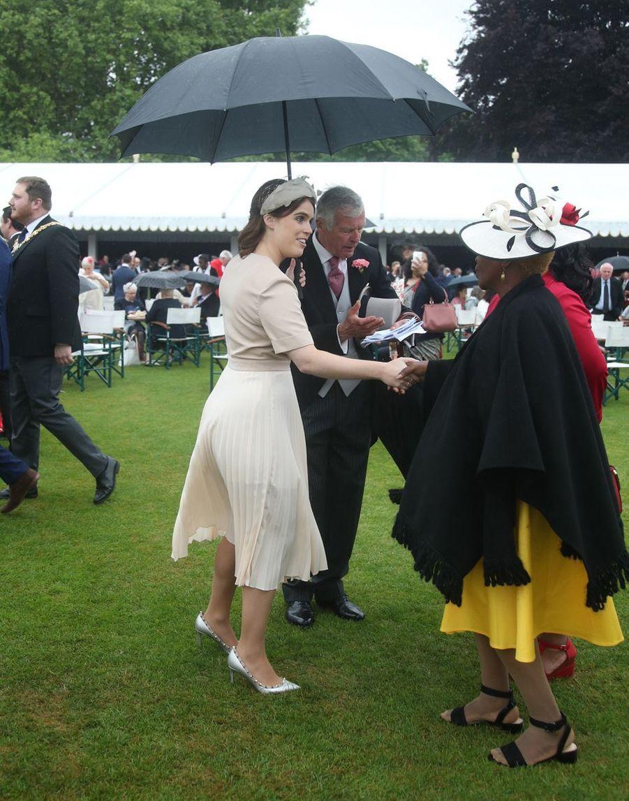 La princesse Eugenie d'York à Londres, le 29 mai 2019