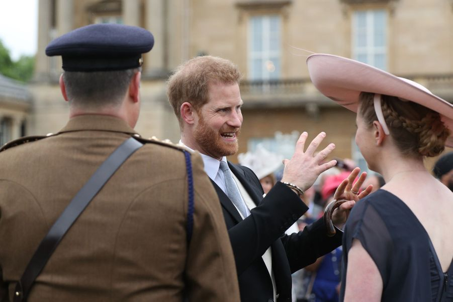 Le prince Harry à Londres, le 29 mai 2019