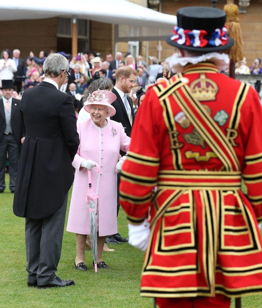 La reine Elizabeth II à Londres, le 29 mai 2019