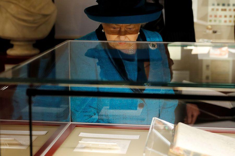 La reine Elizabeth II à Londres, le 26 novembre 2019