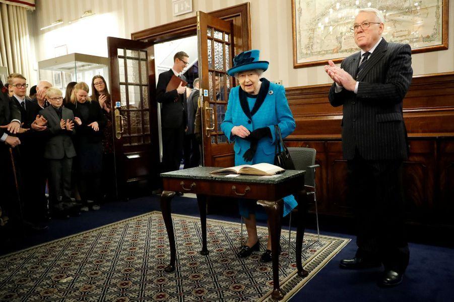 La reine Elizabeth II, le 26 novembre 2019 à Londres