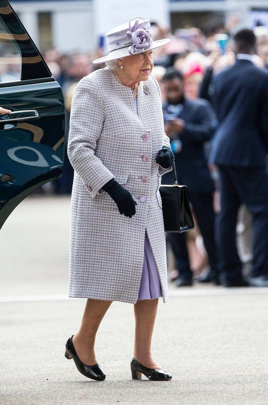 La reine Elizabeth II, le 19 octobre 2019 à Ascot