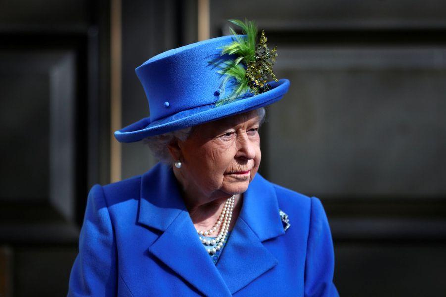 La reine Elizabeth II à Londres, le 14 février 2019