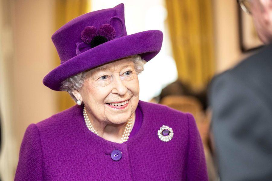 La reine Elizabeth II, le 6 novembre 2019 à Aylesford