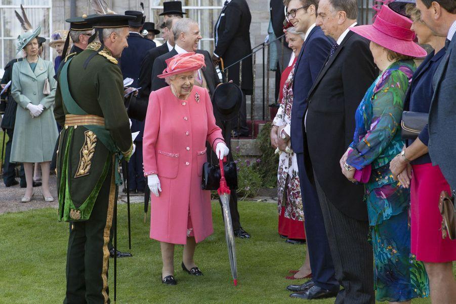 La reine Elizabeth et la princesse Anne à Edimbourg, le 3 juillet 2019