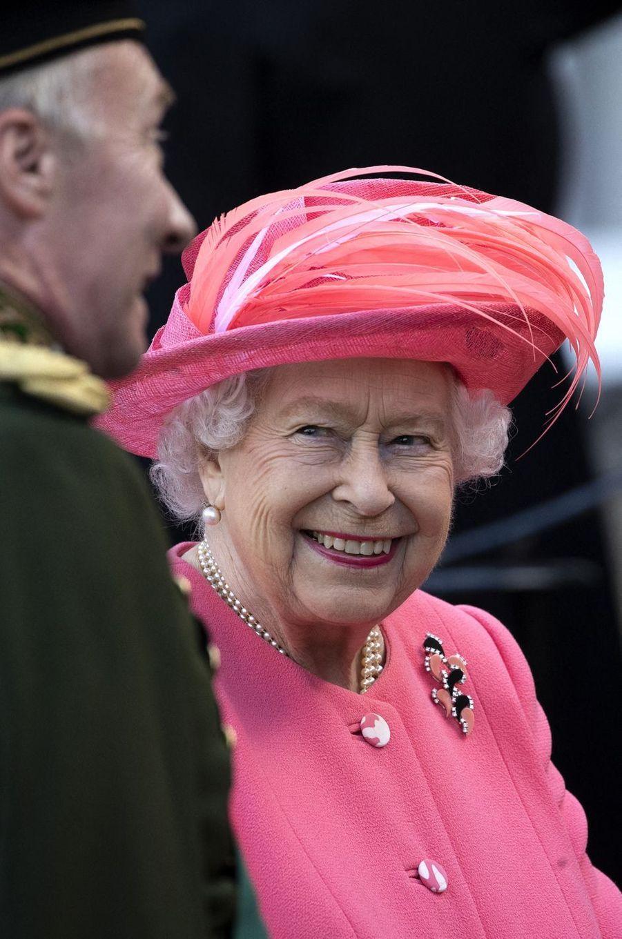 La reine Elizabeth à Edimbourg, le 3 juillet 2019
