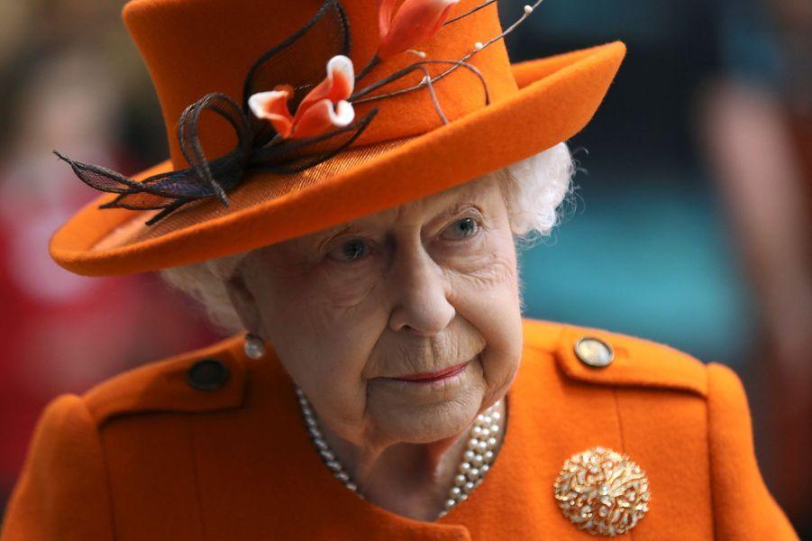 La reine Elizabeth II, le 7 mars 2019 à Londres