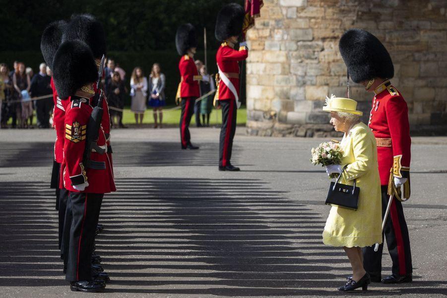 La reine Elizabeth II à Edimbourg, le 28 juin 2019