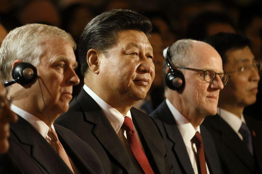 "Sa Majesté dit ""goodbye"" au président chinois"