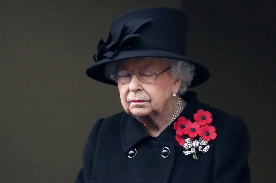 La reine Elizabeth II à Londres, le 8 novembre 2020