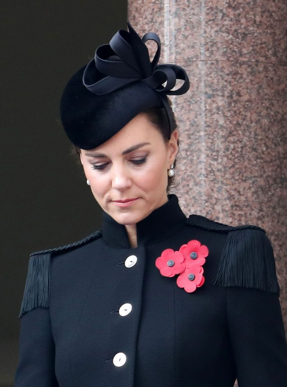 Kate Middleton, duchesse de Cambridge à Londres, le 8 novembre 2020