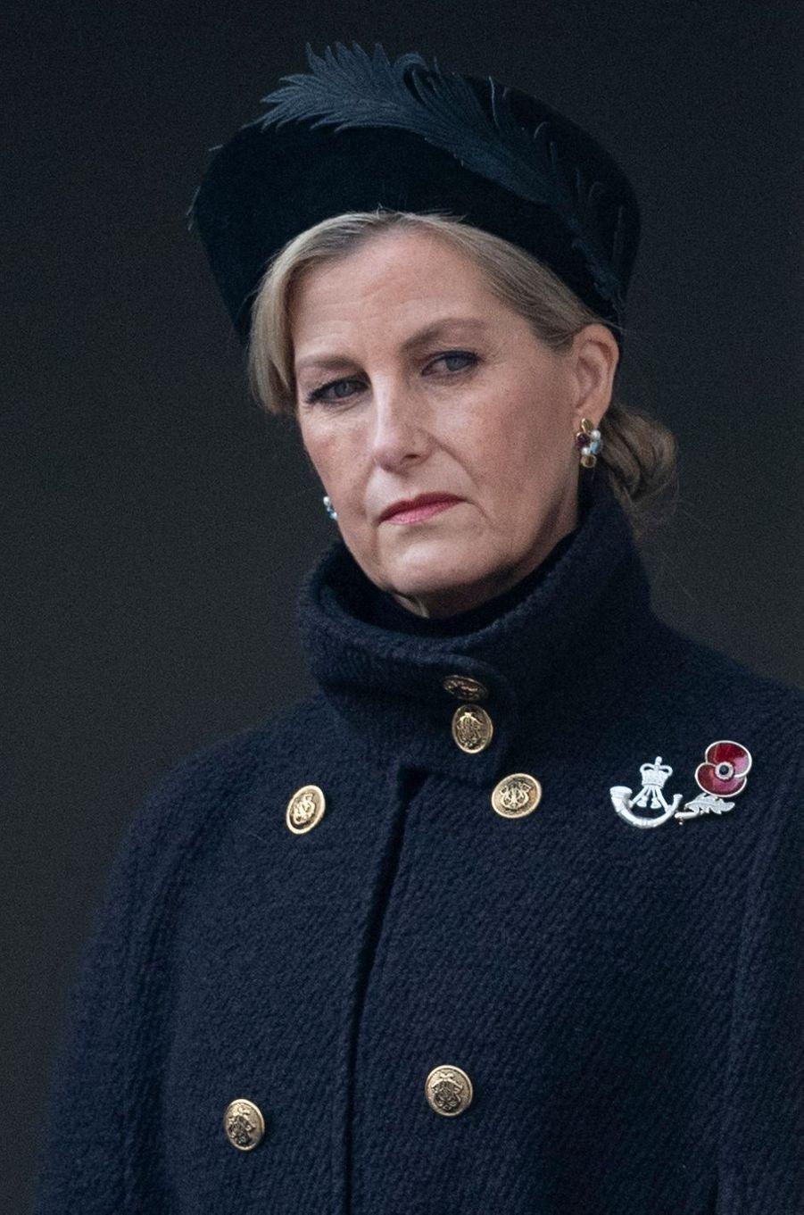 La comtesse Sophie de Wessex à Londres, le 8 novembre 2020