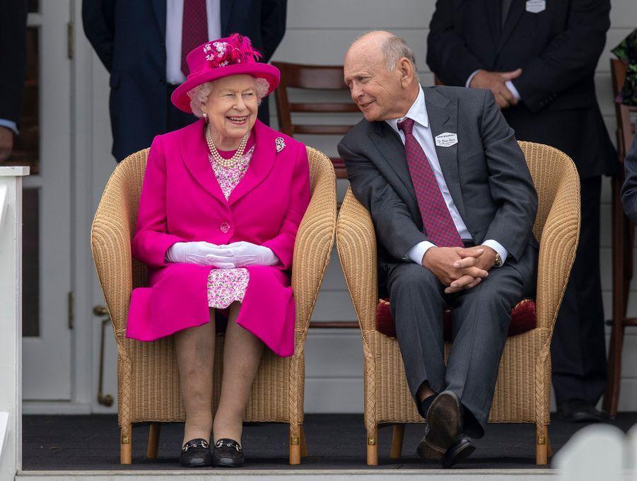 La reine Elizabeth II à Windsor, le 23 juin 2019