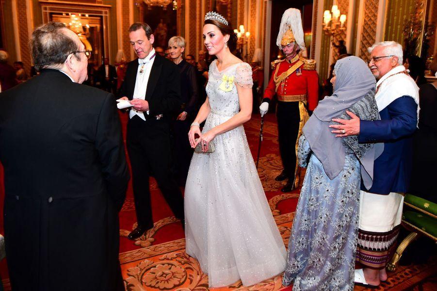 Kate Middleton, la duchesse de Cambridge, à Londres le 4 décembre 2018