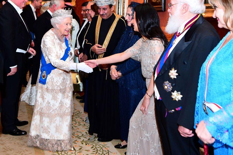La reine Elizabeth II à Londres, le 4 décembre 2018