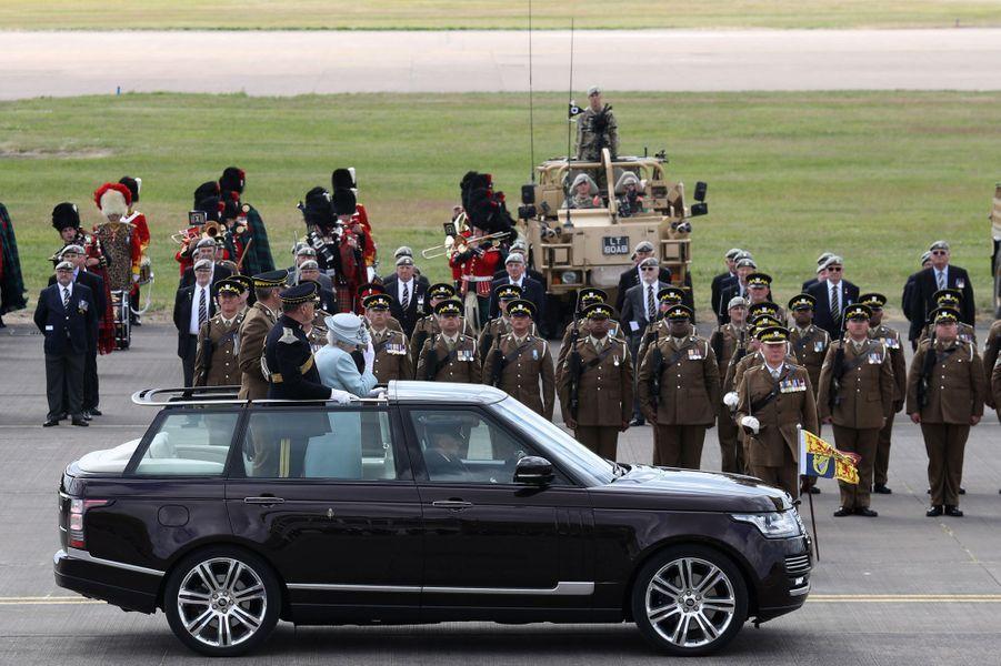 La reine Elizabeth II à Fife, le 5 juillet 2018