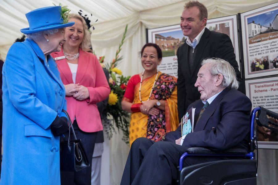 La reine Elizabeth II à Londres, le 11 octobre 2019