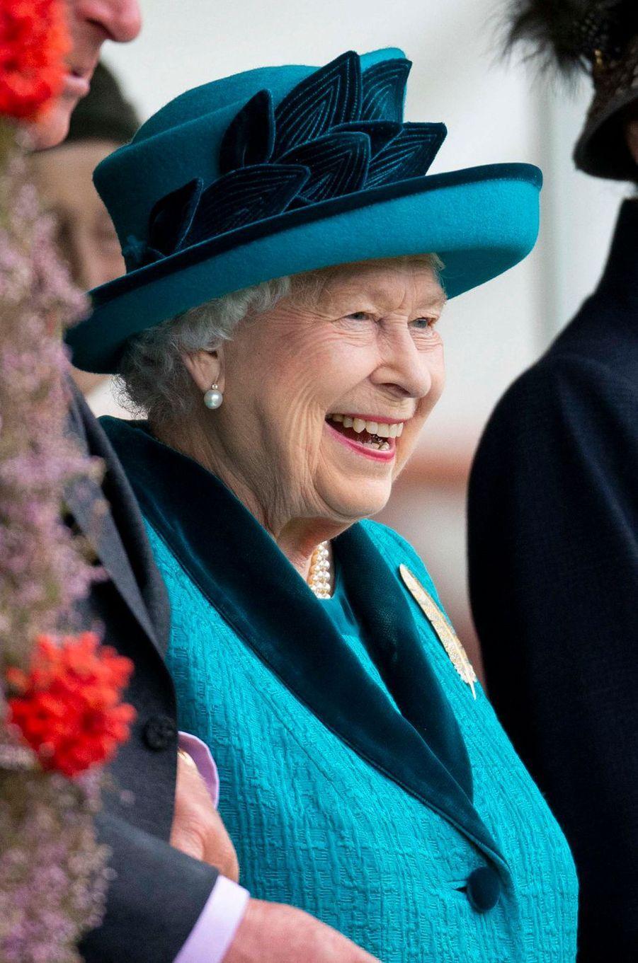 La reine Elizabeth II à Braemar, le 1er septembre 2018