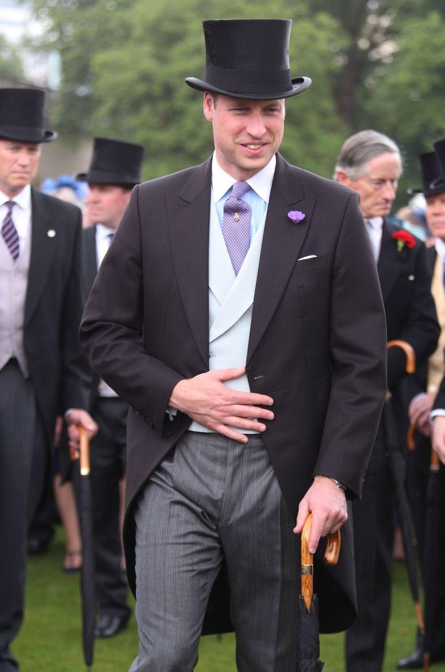 Le prince William à Londres, le 31 mai 2018