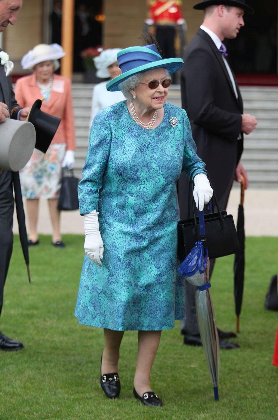 La reine Elizabeth II à Londres, le 31 mai 2018