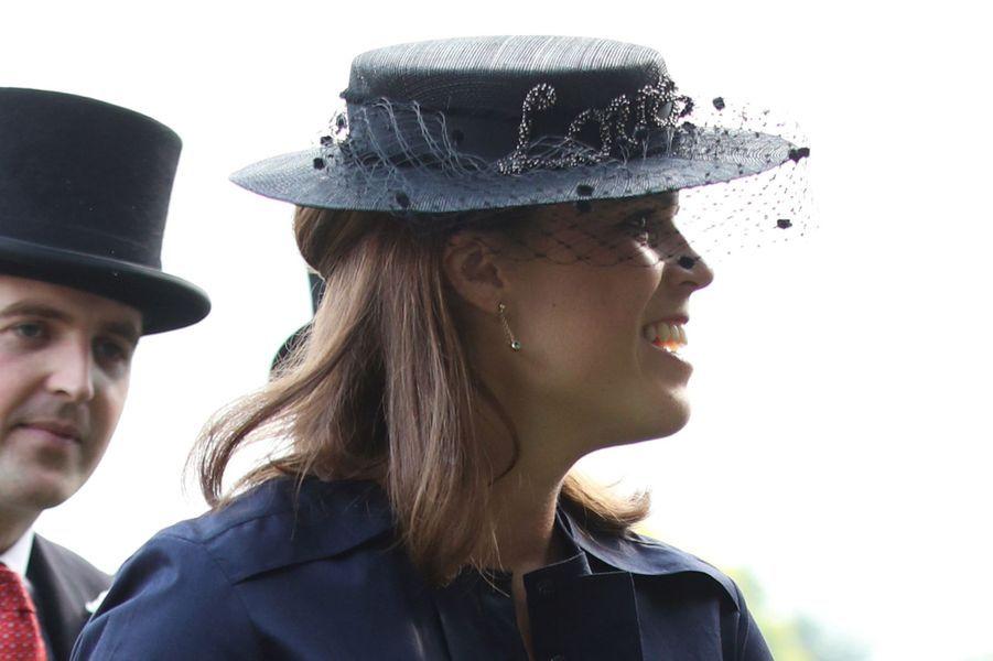 La princesseEugenie d'York à Londres, le 31 mai 2018