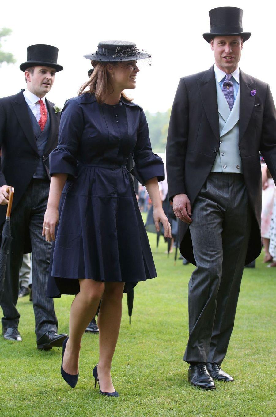 La princesse Eugenie et le prince William à Londres, le 31 mai 2018