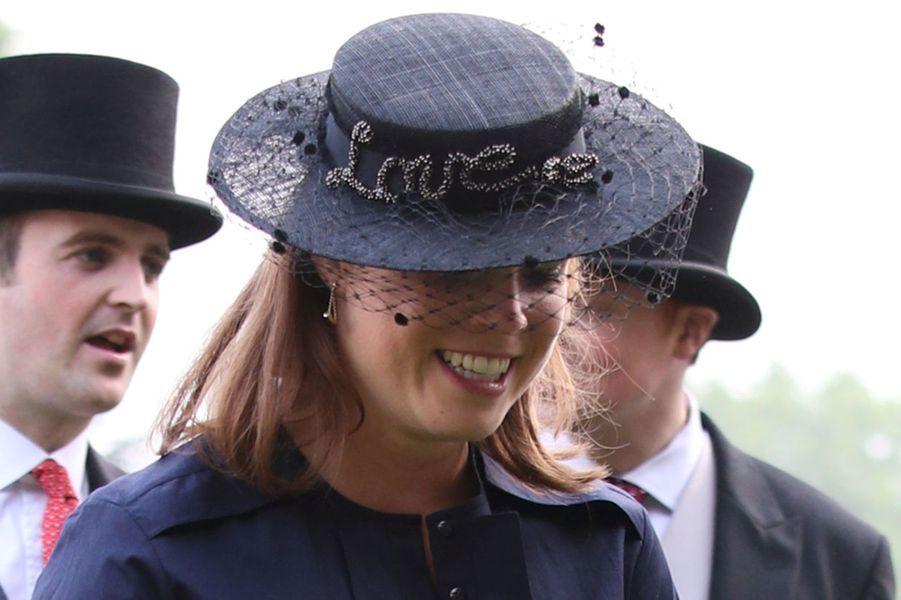 La princesse Eugenie à Londres, le 31 mai 2018