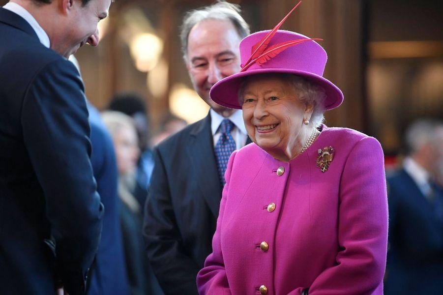 La reine Elizabeth II, le 13 décembre 2018 à Londres