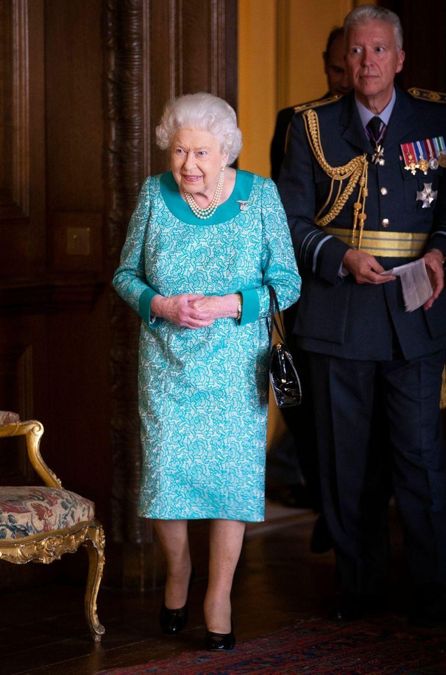 La reine Elizabeth II à Edimbourg, le 3 juillet 2018