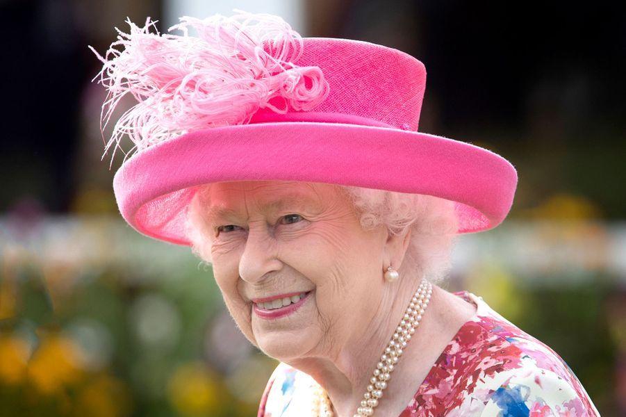 Le chapeau de la reine Elizabeth II à Edimbourg, le 4 juillet 2018