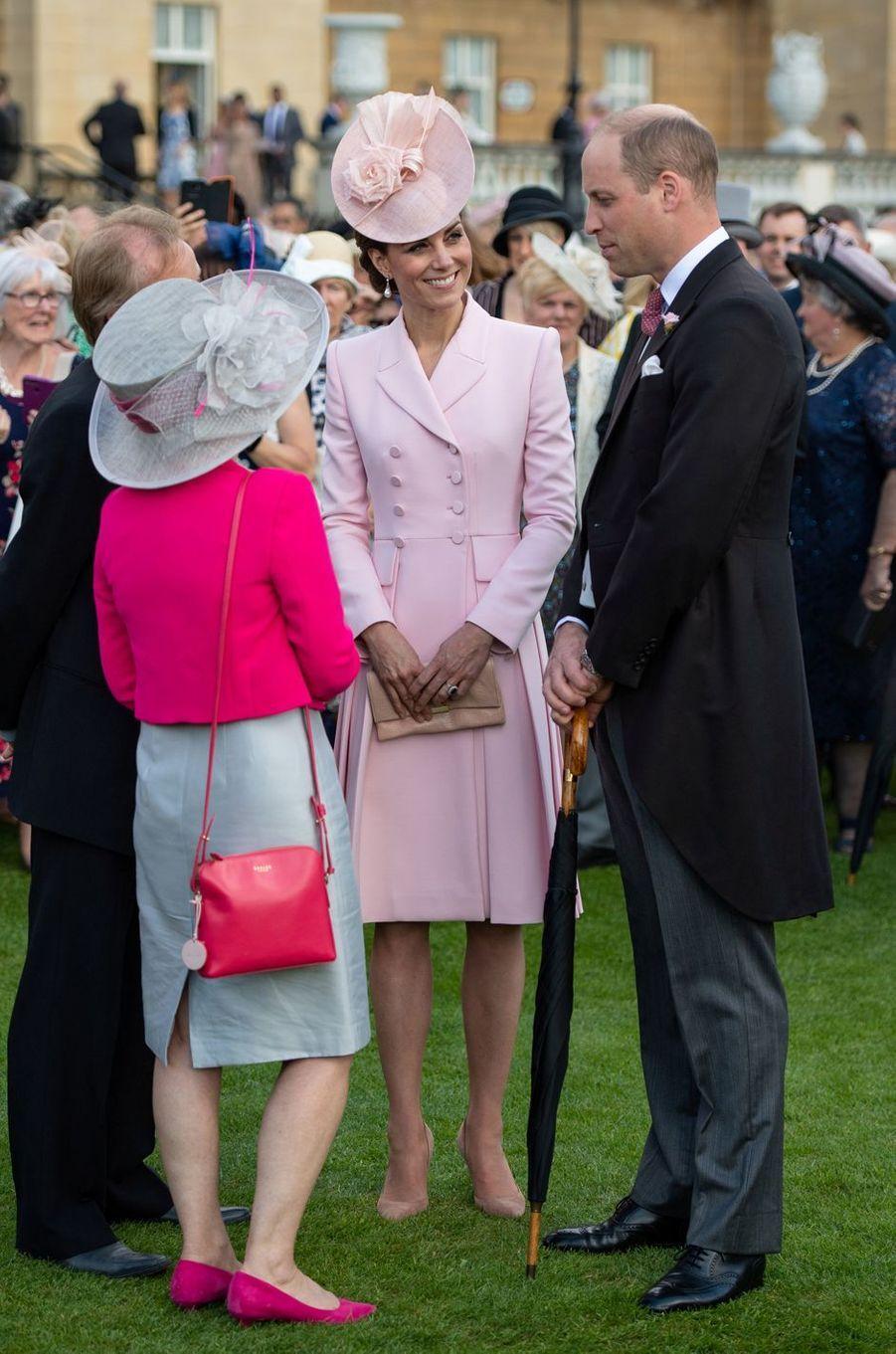Kate Middleton, duchesse de Cambridge, et le prince William à Londres, le 21 mai 2019