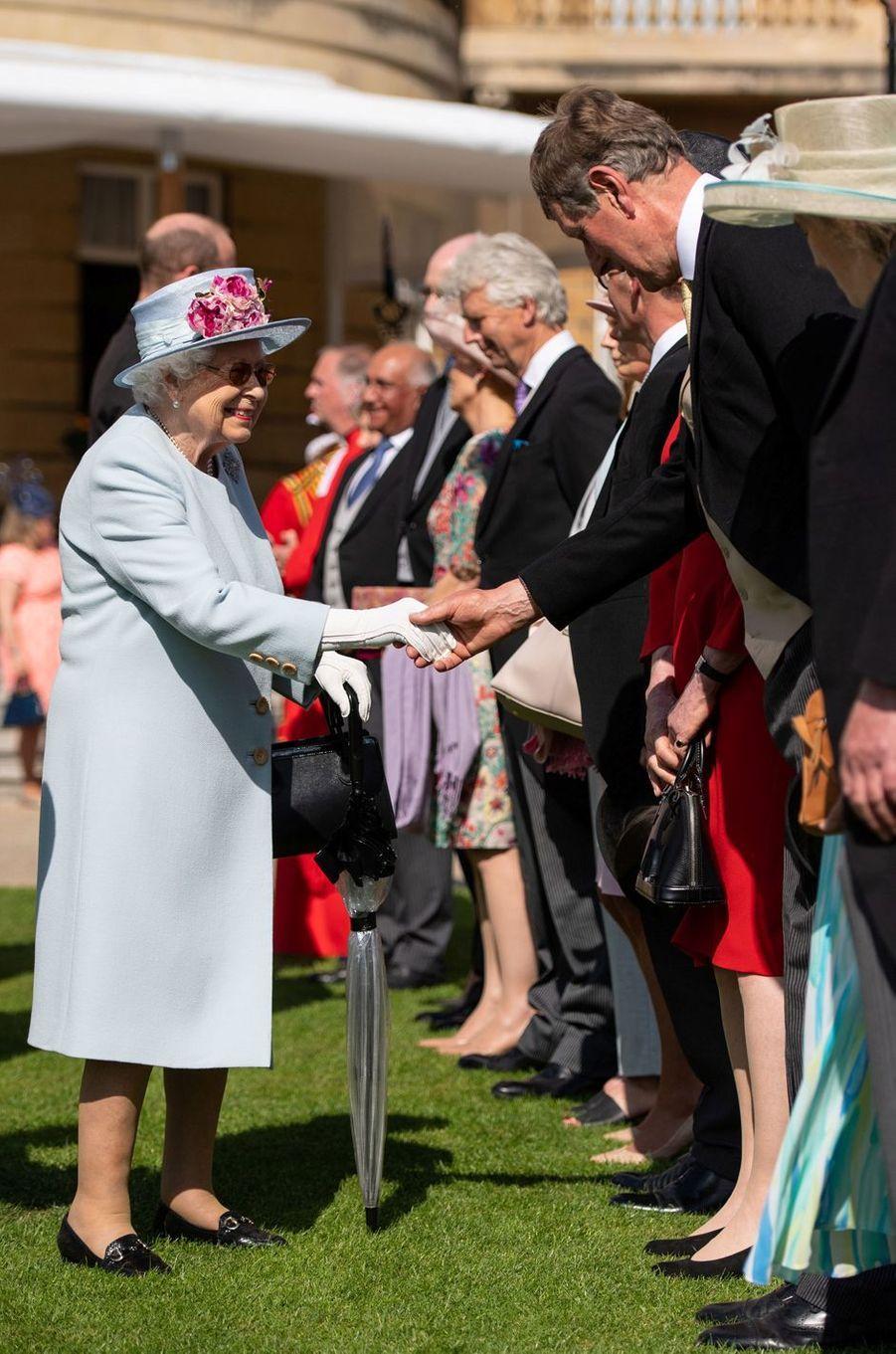 La reine Elizabeth II à Londres, le 21 mai 2019
