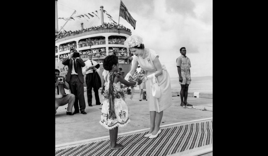 Voyage aux Fidji, 1963