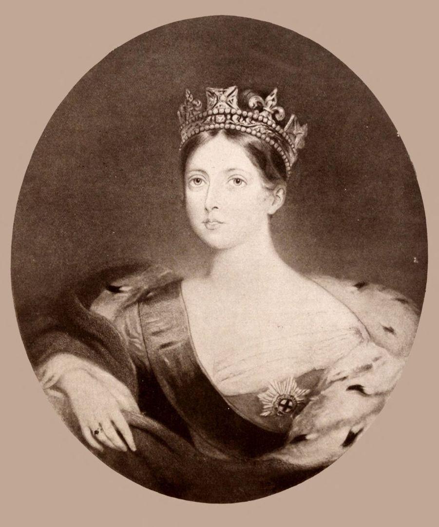 Portrait de la reine Victoria par William Fowler, en 1840