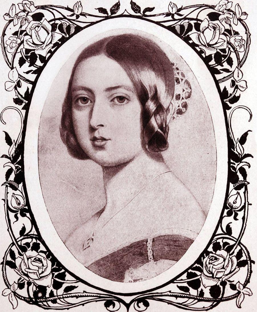 Portrait de la reine Victoria, en 1851
