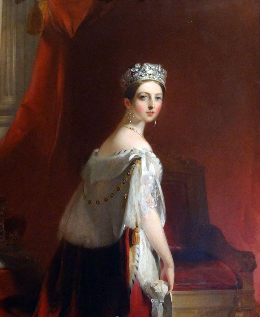 Portrait de la reine Victoria, par Thomas Sully. 1850