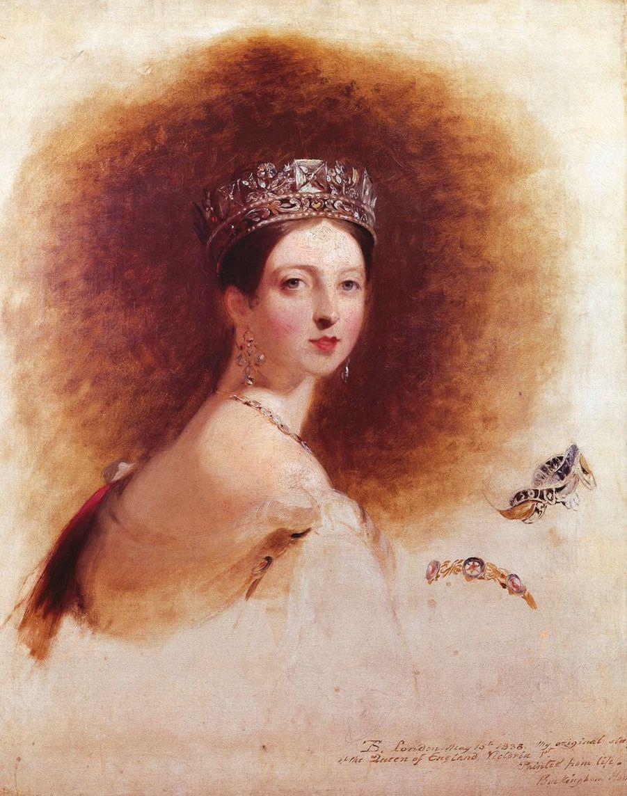 Portrait de la reine Victoria par Thomas Sully (Metropolitan Museum of Art, New York)