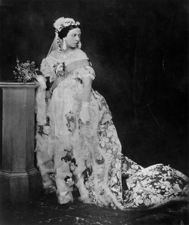 Une des premières photographies de la reine Victoria