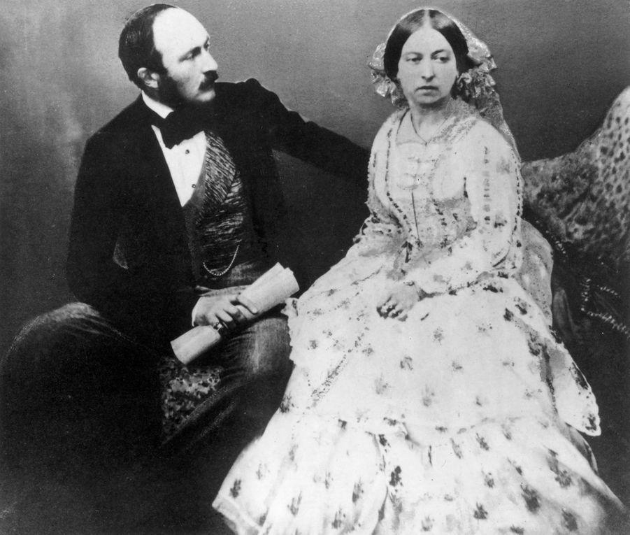 La reine Victoria et le prince Albert en 1854