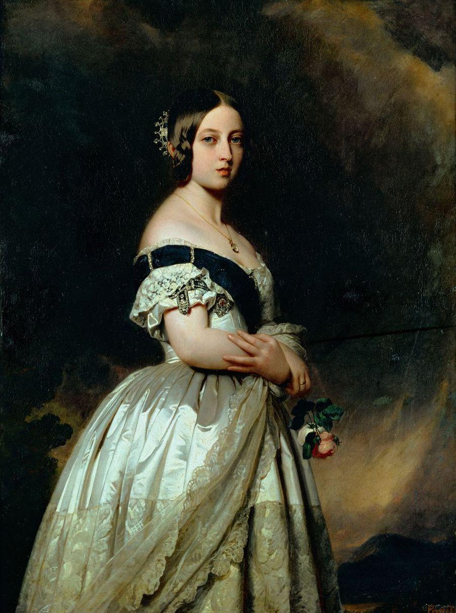 Portrait de la reine Victoria en 1842 (Musée national du Château de Versailles)