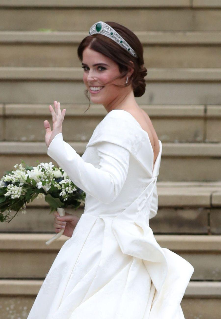 Le Mariage De La Princesse Eugénie D'York En Photos ( 1