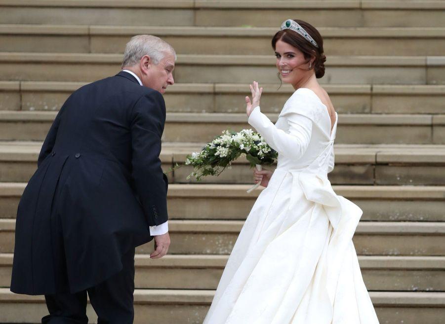 Le Mariage De La Princesse Eugénie D'York En Photos ( 16